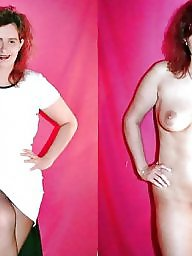 Milf, Dressed undressed, Dress undress, Amateur milf, Undressed, Undress