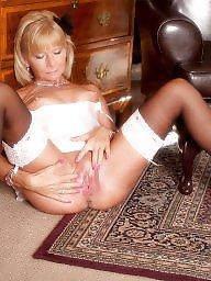Nylon, Mature nylon, Nylon stockings, Mature stockings
