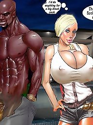 Interracial, Interracial cartoons, Interracial cartoon, Sluts, White, Cartoon interracial