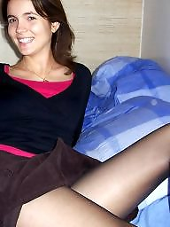 Nylon, Stockings, Nylons, Teen upskirt, Nylon teen, Teen nylon