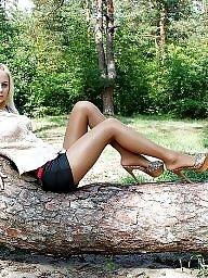 Upskirt, Legs, Leggings, Upskirt stockings