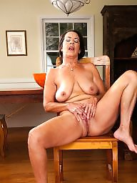 Swallow, Brunette milf, Brunette mature, Whore