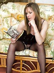 Mature stockings, Sexy mature