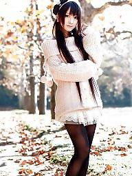 Asses, Teen stockings, High, Teen girls