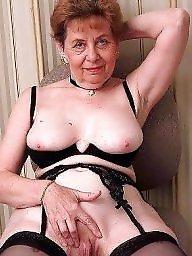 Granny mature, Granny, Grab