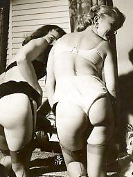 Lingerie, Lady, Stocking, Vintage amateur, Vintage lingerie, Amateur lingerie