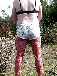 Outdoor, Lace, Tight, Red, Tights, Shorts