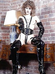 Leather, Latex, Pvc, Mature pvc, Mature latex, Milf leather