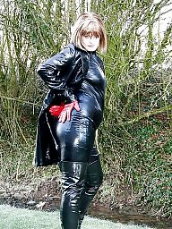 Latex, Leather, Pvc, Amateur mature, Mature leather