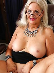 Mature blonde, Plump, Blonde mature