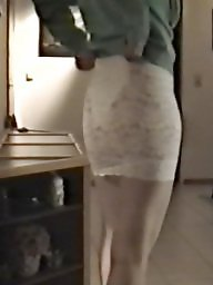 Skirt, Tights, Slutty, Babe, Bitch, White ass