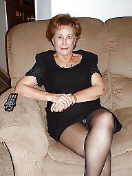 Mature pantyhose, Grannies, Granny, Stocking, Granny pantyhose, Granny stockings