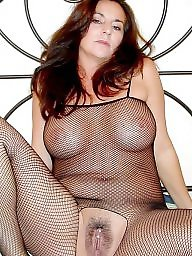 Fishnet, Old, Old and young, Old milf, Seethrough, Old milfs