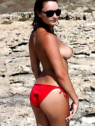Bikini, Topless, Amateur bikini, Ass bikini