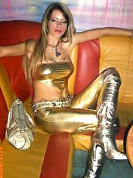 Latex, Leather, Pvc, Mature leather, Mature pvc