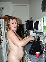 Kitchen, Hot mature, Hot milf
