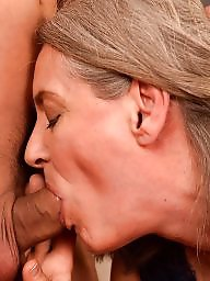 Granny blowjob, Mature blowjob, Mature facial, Grannies, Oral, Granny facial