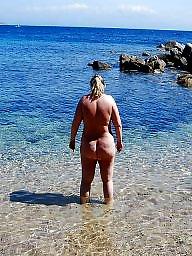 Beach, Bbw beach, Nudism