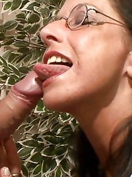 German, Facials, Milf blowjob