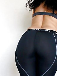 Cameltoe, Gym, Sexy, Big booty, Shorts, Booty