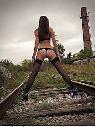 Lingerie, Heels, Teen lingerie, Teens lingerie, Amateur lingerie, Teen stockings