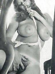 White, Big black, Vintage boobs, White and black