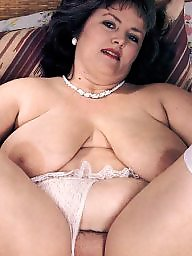 Spreading, Spread, Stockings, Bbw spreading, Shaved, Bbw stockings