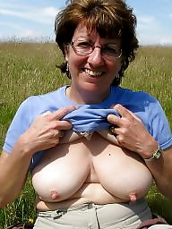 Saggy, Saggy tits, Mature tits, Hanging, Hanging tits, Mature saggy