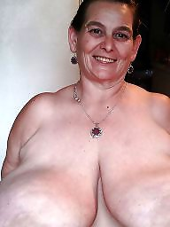 Saggy, Saggy tits, Granny big boobs, Granny bbw, Old granny, Bbw granny