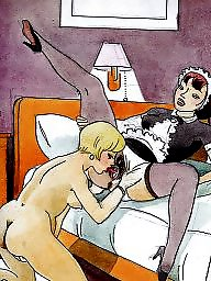 Drawings, Drawing, Draw, Vintage cartoons, Erotic