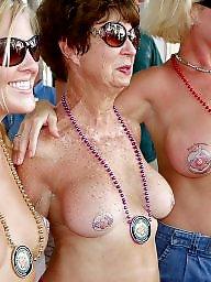 Grandma, Grandmas, Mature nipples, Mature love