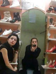 Women, Spy, Store, Hidden