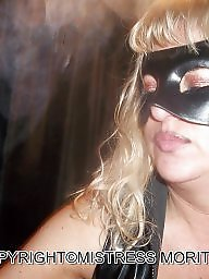 Behind, Mask, Blonde