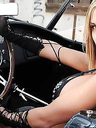 Car, Cars, Girl and girl, Funny