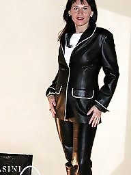 Latex, Boots, Pvc, Leather, Mature porn, Porn mature