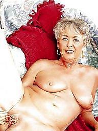 Grey, Naked granny