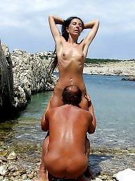 Beach sex, Public sex