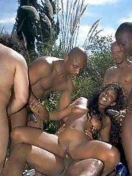 Black, Africa, Trio