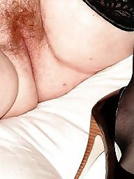 Nylon, Spreading, Spread, Bbw hairy, Hairy spreading