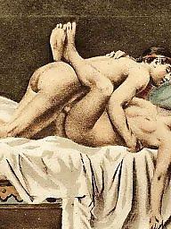 Vintage, Vintage cartoon, Art, Vintage cartoons, Erotic, Group cartoon