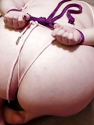 Bdsm, Tied, Bbw bdsm, Plumper, Bbw slut, Tied up
