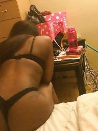 Face, Ebony ass, Black tits