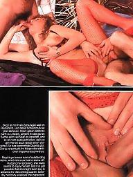 Vintage, Retro, Pussy, Hairy pussy, Magazine, Vintage hairy