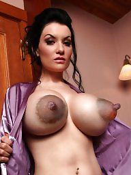 Mature, Nipple, Big nipple, Mature boobs, Mature big tits