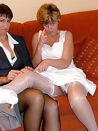 Mature stockings, Uk mature, Stocking mature