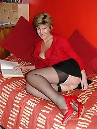 Uk mature, Red, Red mature, Mature uk, Mature lady
