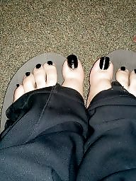 Toes, Work, Black, Black amateur, After