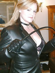 Latex, Leather, Strapon, Pvc, Bbw mature, Mature femdom