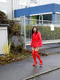 Red, Public flashing