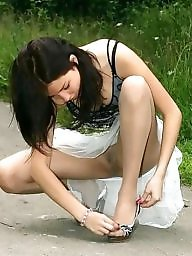 Teen pantyhose, Amateur pantyhose, Amateur stockings